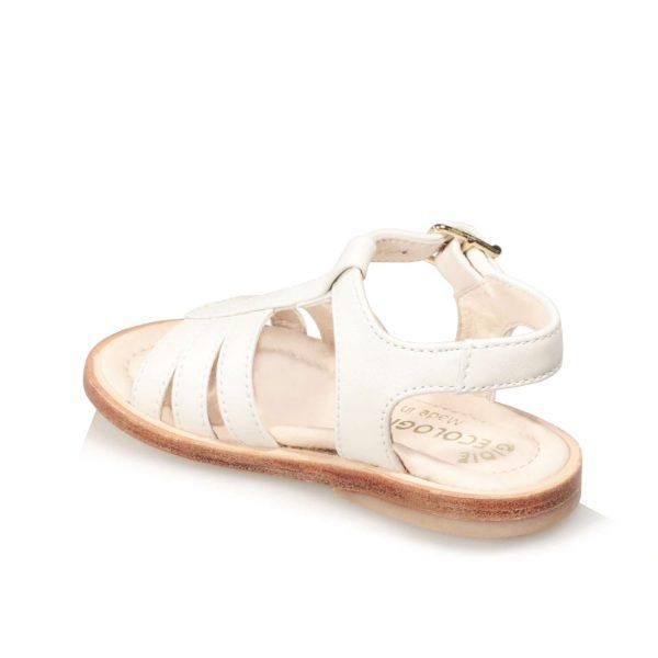 Sandalo panna da bambina