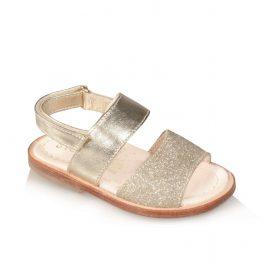 Sandalo oro da bambina