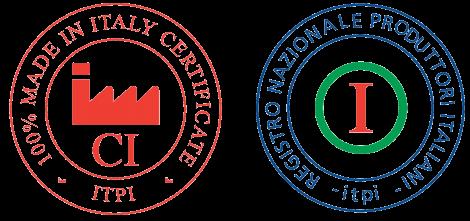 Certificazione 100% Made In Italy