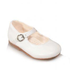 Mary Jane da bambina di colore bianco
