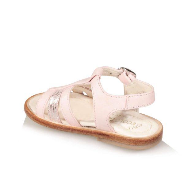 Sandalo rosa da bambina