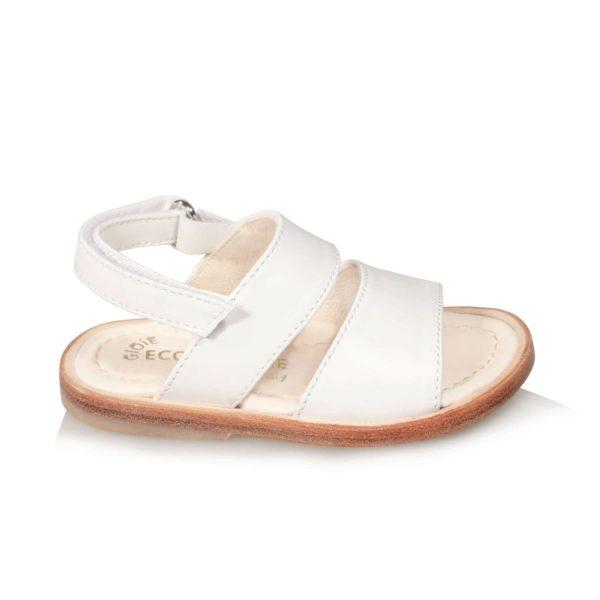 Sandalo bianco da bambina