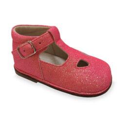 Scarpa con microglitter da bambina - Colore rosa