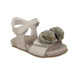 Sandalo bambina stars beige