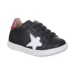 Sneaker bambina con stellina bianca