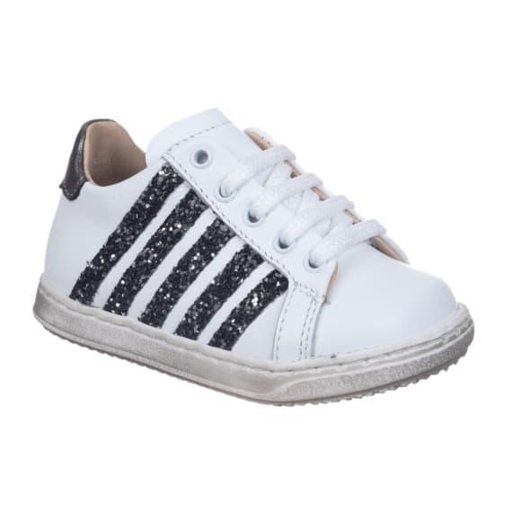 Sneaker da bambina con glitter