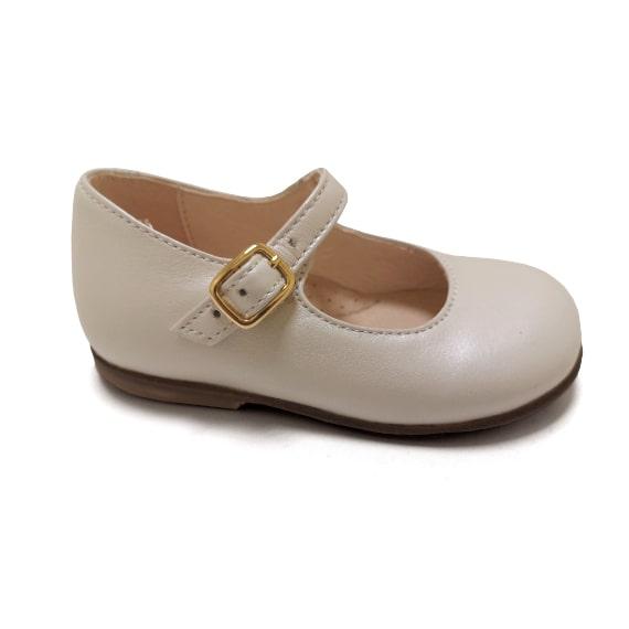 Mary Jane panna perlato - Scarpa da bambina