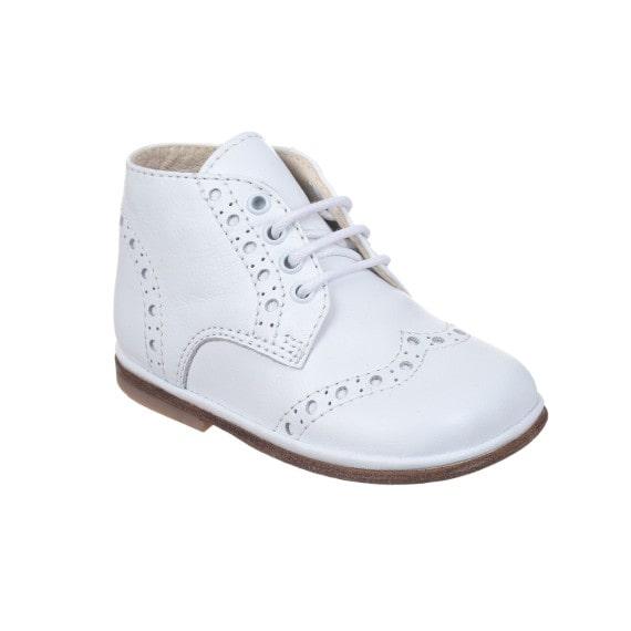 Scarpe bambina derby bianca