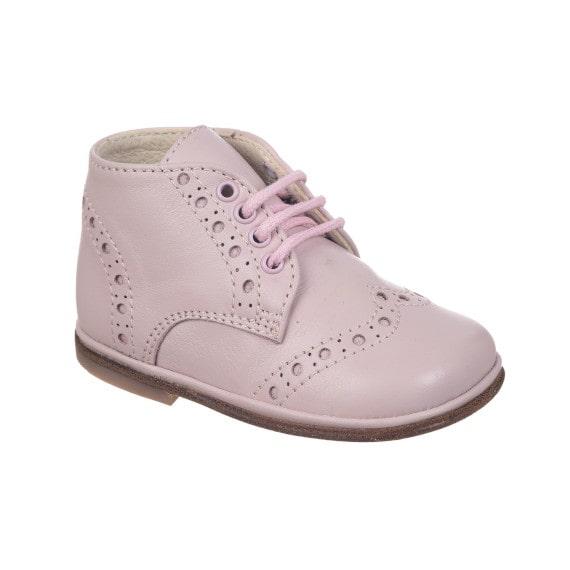 Scarpe bambina derby rosa
