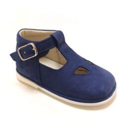 scarpa bluette da bambini con occhi