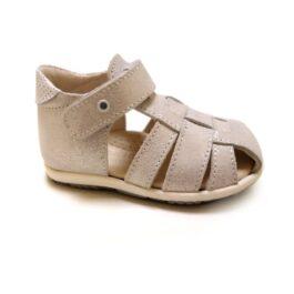 Sandalo stars bianco da bambina